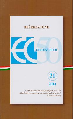Az Europa-Club új évkönyve