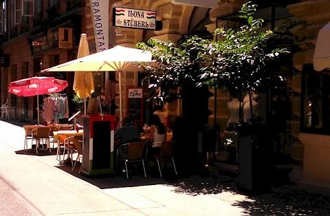 Az Ilona Stüberl étterem