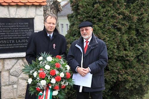 Az Ausztriai Független Magyar  Kultúregyesületek Csúcsszervetének  március 15-ei rendezvénye
