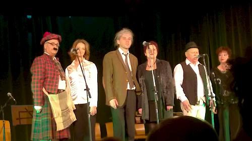 Gruppen-Hecc  kabaréműsor Bécsben