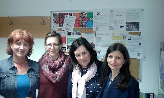AMAPED – A Debreceni Nyári egyetem munkatársai látogattak meg bennünket április végén
