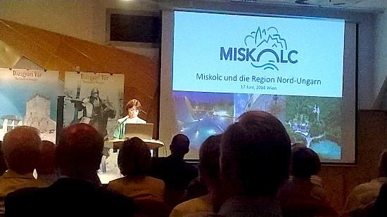 Virtuális utazás Bécsből Miskolcra