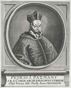 Pázmány Péter Ausztriában
