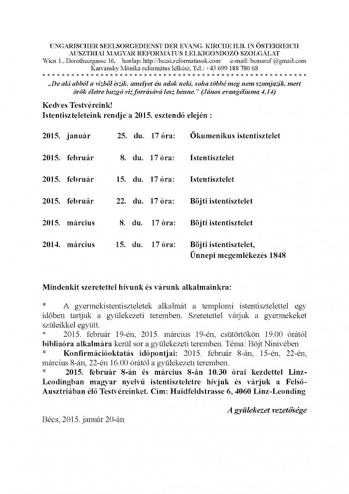 Ausztriai Magyar Református Lelkigondozó Szolgálat