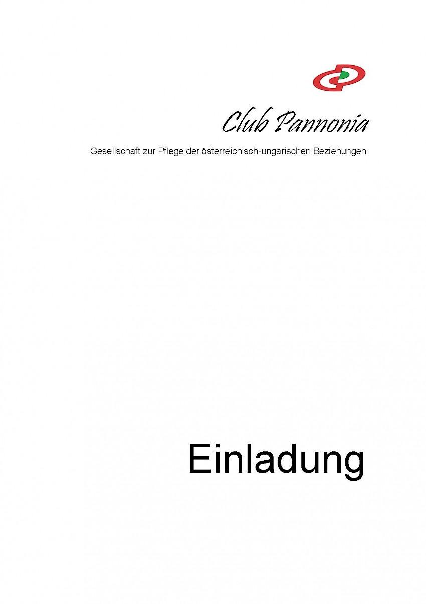 PODIUMSDISKUSSION a Club Pannonia szervezésében
