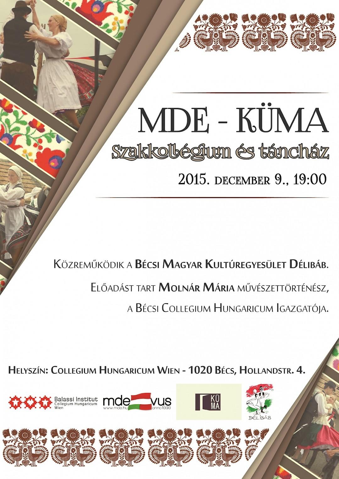 MDE-KÜMA Szakkolégium és táncház