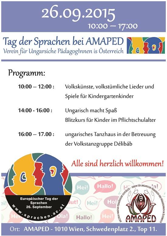 Nyelvek Napja az AMAPED-ben