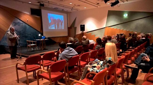 Reha György előadása a Székesfehérvári Egyházmegye kortárs művészeti tevékenységéről