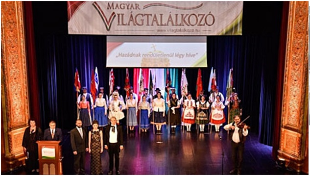 VI. Magyar Világtalálkozó Ünnepélyes megnyitó a budapesti Urániában