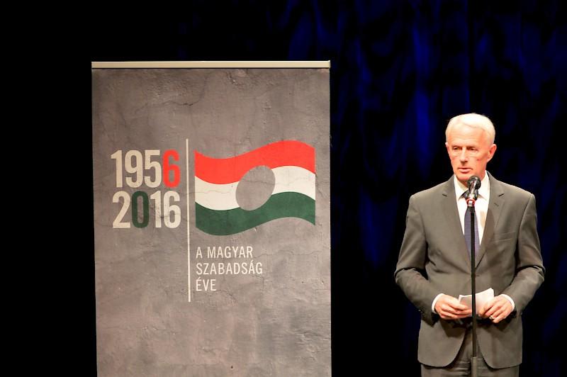 A bécsi magyarok ünnepi megemlékezése az 1956-os forradalom és szabadságharc 60. évfordulója alkalmából
