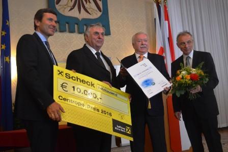 Smuk András kapta az idei Centrope díjat – 2016. szeptember 7.