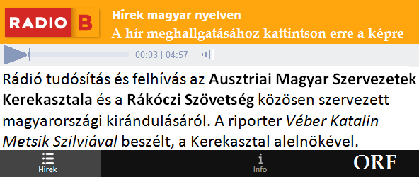 ORF hír – Kirándulás Budapestre