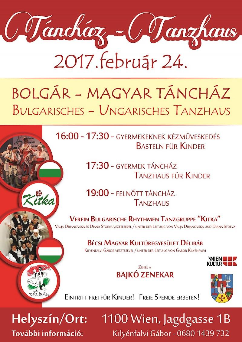 Bolgár – Magyar Táncház