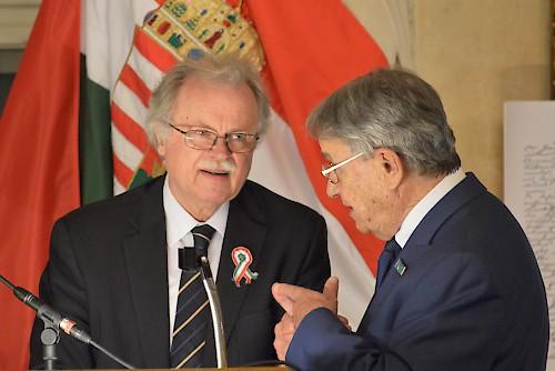 Ünnepi megemlékezés Bécsben a március 15-i nemzeti ünnep alkalmából
