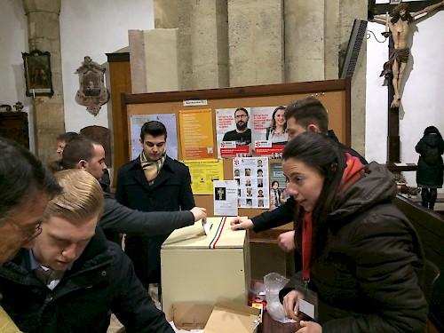 Képviselőtestületi választást tartottak a Bécsi Egyházmegyében