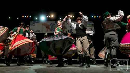 A Bécsi Magyar Kultúregyesület Délibáb tánccsoportja az Országos Táncháztalálkozón