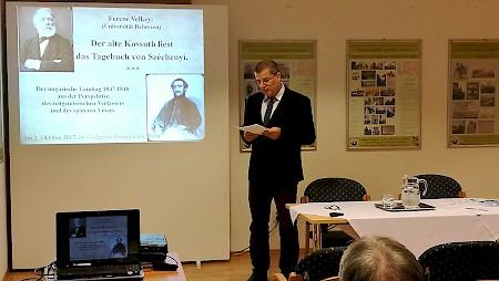 Kossuth megjegyzései Széchenyi Naplójához – előadás