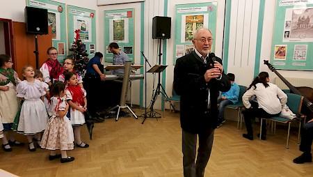 Meghitt karácsonyi ünnepség Bécsben