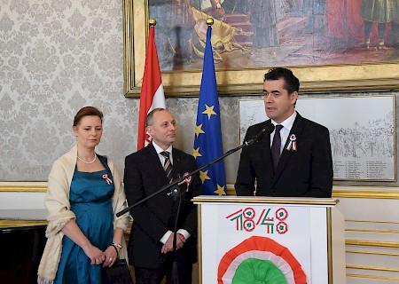 Március 15. – nemzeti ünnep Bécsben