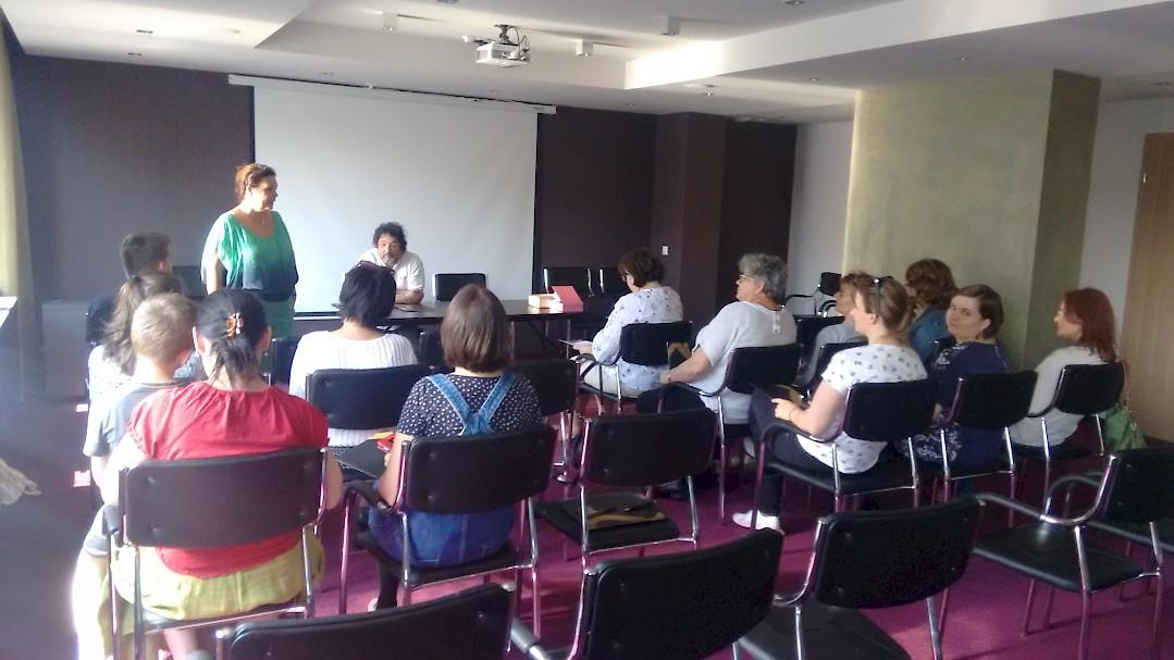Tanári továbbképzés Sárváron az AMAPED pedagógusainak