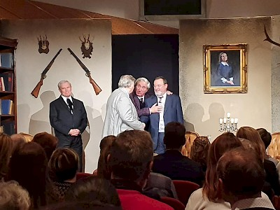 """Az ,,Europa-Club"""" meghívására érkezett Bécsbe a Soproni Petőfi Sándor Színház"""
