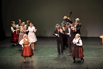 A Banda – A Háromszék Táncegyüttes előadása Bécsben
