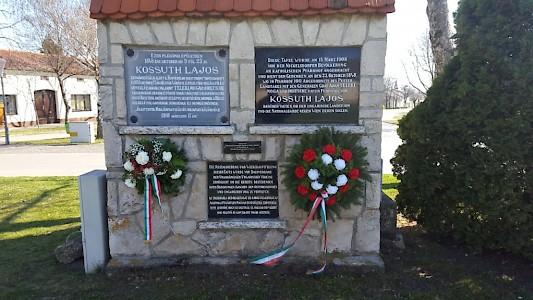 Az Ausztriai Független Magyar Kultúregyesületek Csúcsszervezetének magányos megemlékezése