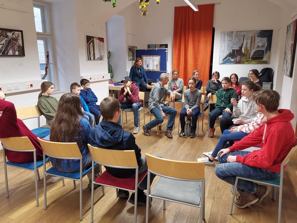 A Soproni Petőfi Színház Tantermi színház programja ismét az AMAPED-ben járt