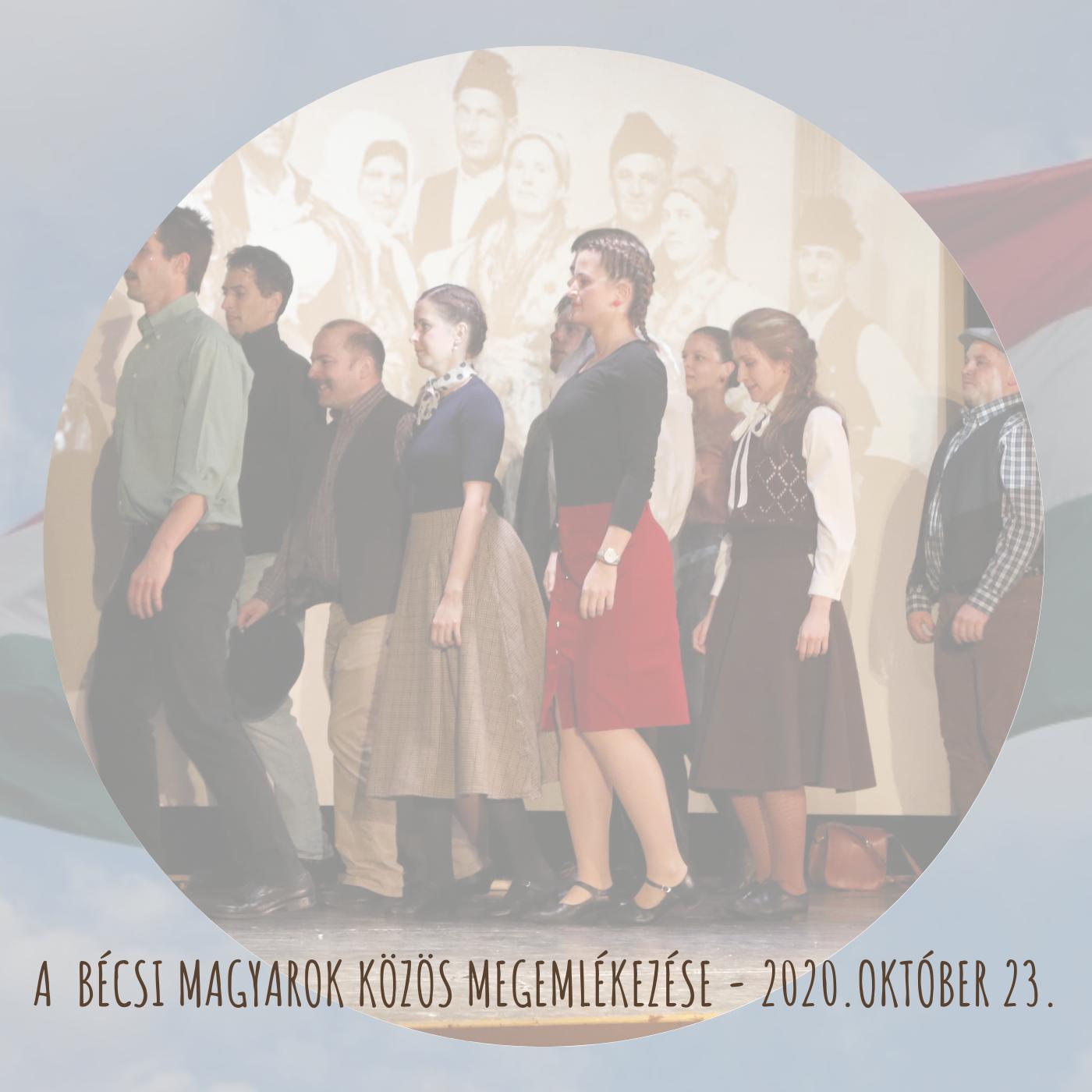 Online emlékeztek meg idén a bécsi magyarok 1956 október 23-ról