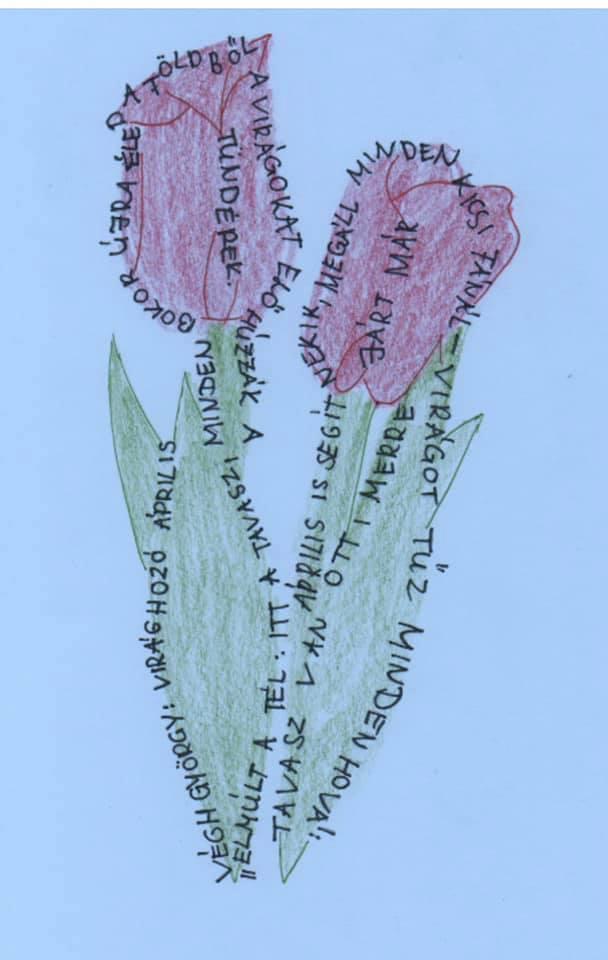 Költészet napi foglalkozás a Bécsi Magyar Iskolegyesületnél