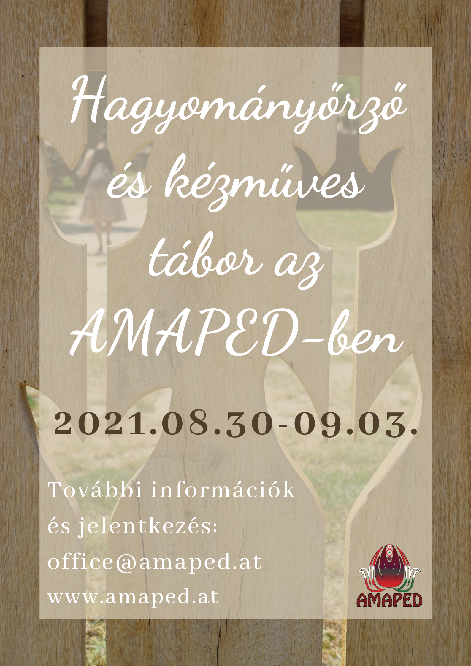 Hagyományőrző kézműves tábor az AMAPED-ben