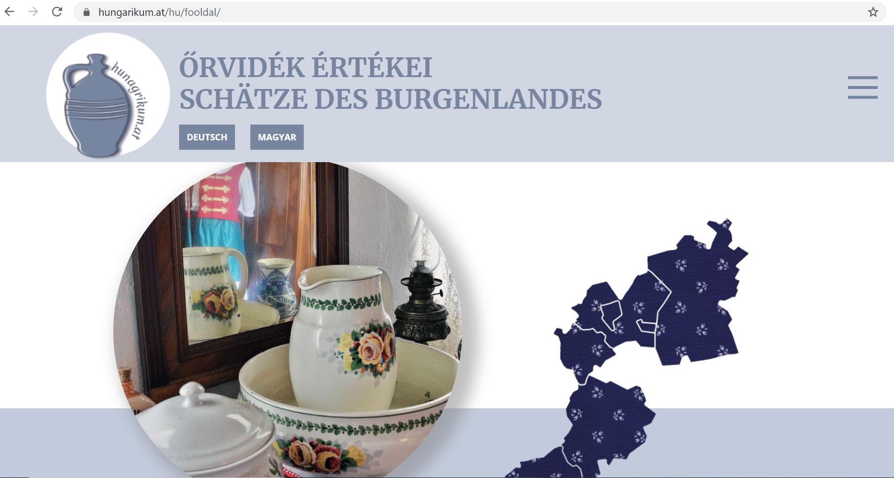 Őrvidéki hungarikumok bemutatására készült honlap