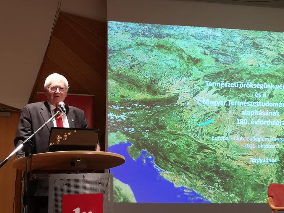 Dr. Tardy János előadása: Természeti örökségünk védelmében